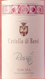 Castello di Bossi: the rosatos among the favourite ones of Vinous byGalloni.