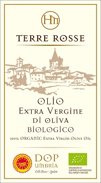 Terre rosse, extraordinary extra virgin olive oil from Azienda AgrariaHispellum